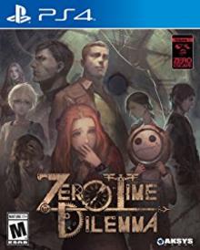 Box art for the game Zero Escape: Zero Time Dilemma