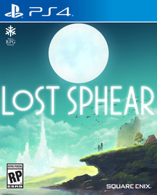 Box art for the game Lost Sphear