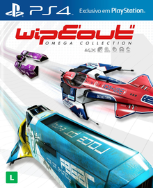 Box art for the game Wipeout Omega Collection