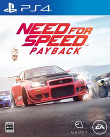 Box art for the game Need for Speed Payback