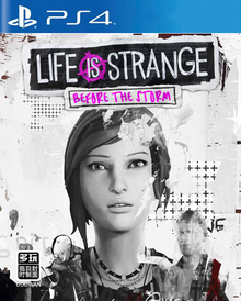Box art for the game Life is Strange: Before the Storm