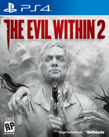 Box art for the game The Evil Within 2