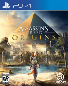 Box art for the game Assassin's Creed Origins