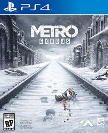 Box art for the game Metro Exodus