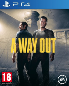 Box art for the game A Way Out