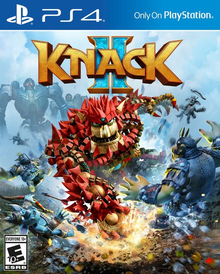 Box art for the game Knack 2