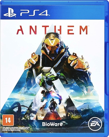 Box art for the game Anthem