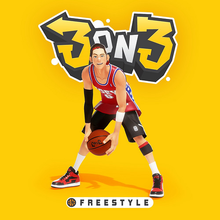 Box art for the game 3on3 FreeStyle