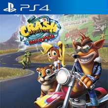 Box art for the game Crash Bandicoot N. Sane Trilogy: Crash Bandicoot 3 -Warped