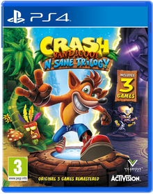 Capa do jogo Crash Bandicoot N. Sane Trilogy: Crash Bandicoot