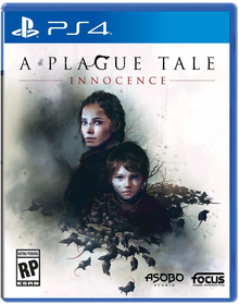 Box art for the game A Plague Tale