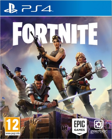 Box art for the game Fortnite
