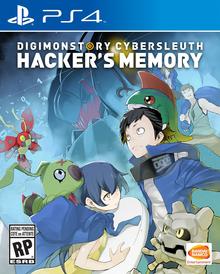 Capa do jogo Digimon Story: Cyber Sleuth Hacker's Memory