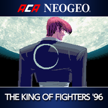 Box art for the game ACA Neo Geo: The King of Fighters 96