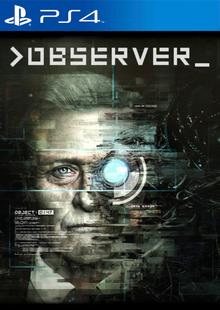 Capa do jogo Observer