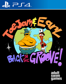 Box art for the game ToeJam & Earl: Back in the Groove