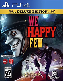 Box art for the game We Happy Few