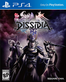 Box art for the game Dissidia: Final Fantasy NT