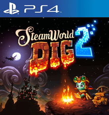 Box art for the game SteamWorld Dig 2