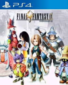Box art for the game Final Fantasy IX