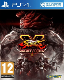Capa do jogo Street Fighter V: Arcade Edition