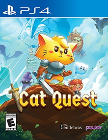 Box art for the game Cat Quest