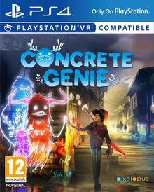Box art for the game Concrete Genie