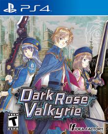 Box art for the game Dark Rose Valkyrie