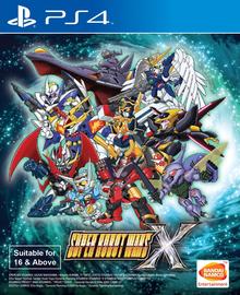 Box art for the game Super Robot Taisen X