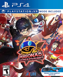 Box art for the game Persona 5: Dancing Star Night