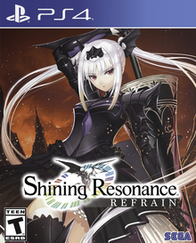 Capa do jogo Shining Resonance Re:frain