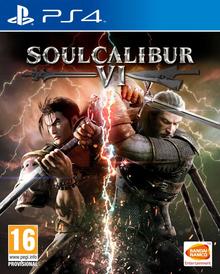 Box art for the game SoulCalibur VI