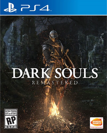 Box art for the game Dark Souls Remastered