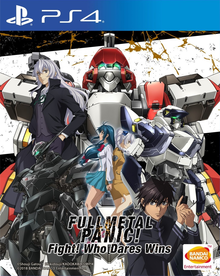 Capa do jogo Full Metal Panic! Fight! Who Dares Wins