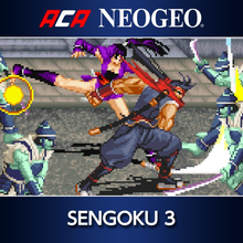Box art for the game ACA Neo Geo: Sengoku 3