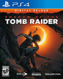 Box art for the game Shadow of the Tomb Raider