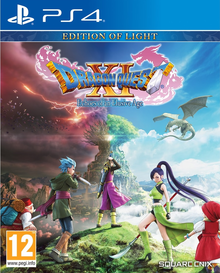 Box art for the game Dragon Quest XI: Echoes of an Elusive Age