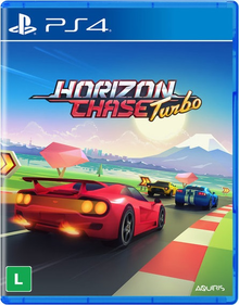 Box art for the game Horizon Chase Turbo