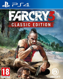 Box art for the game Far Cry 3 Classic Edition