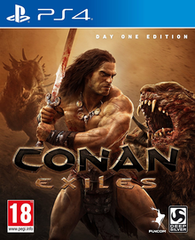 Box art for the game Conan Exiles