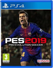 Box art for the game Pro Evolution Soccer 2019