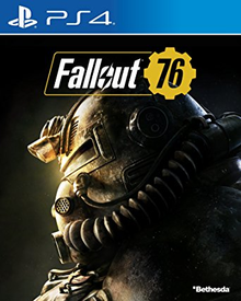 Box art for the game Fallout 76