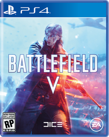 Box art for the game Battlefield V