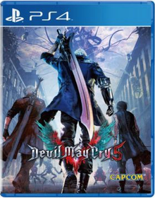 Capa do jogo Devil may Cry 5