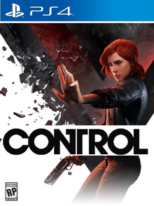 Box art for the game Control