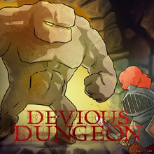 Box art for the game Devious Dungeon
