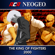 Box art for the game ACA Neo Geo: The King of Fighters 2000