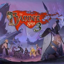 Box art for the game The Banner Saga 3