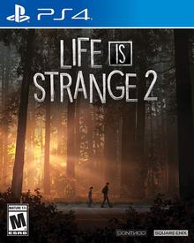 Box art for the game Life is Strange 2