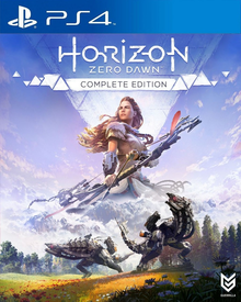 Box art for the game Horizon Zero Dawn: Complete Edition